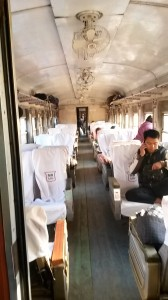 Upper Class Train Myanmar