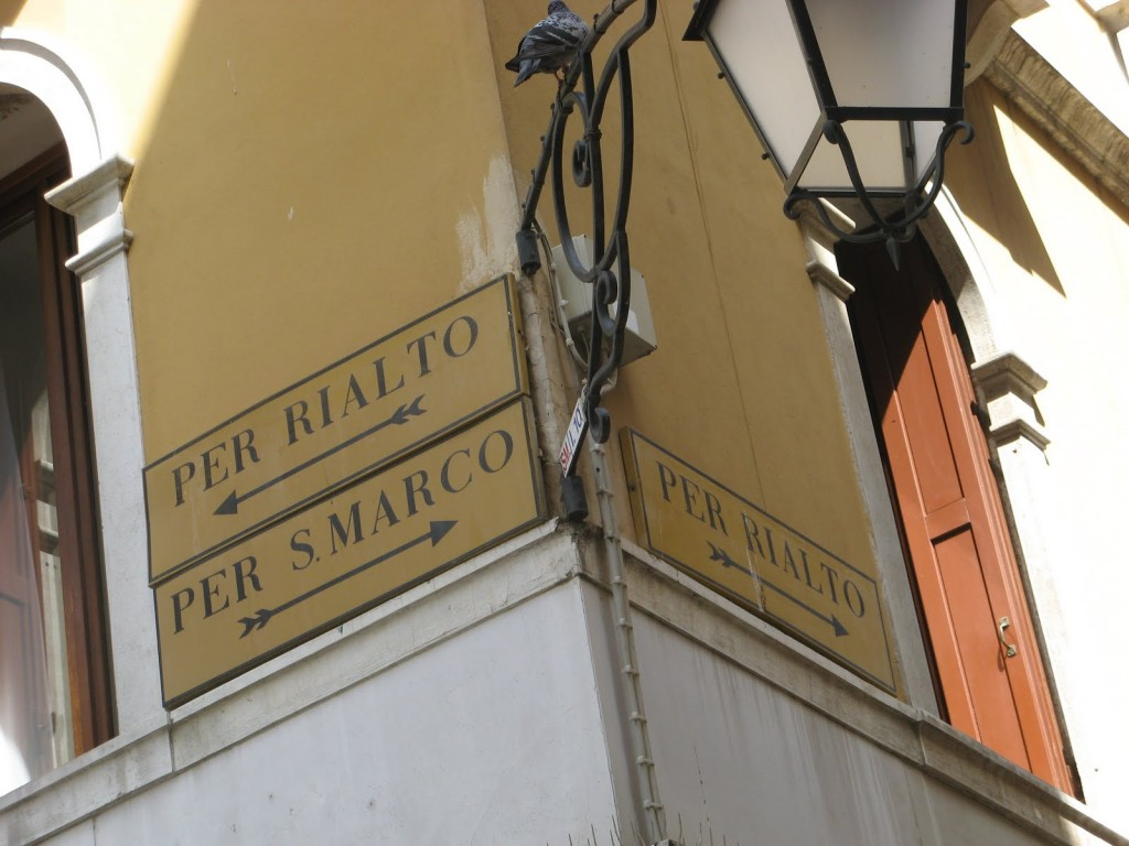 Confusing Venice Street Signs