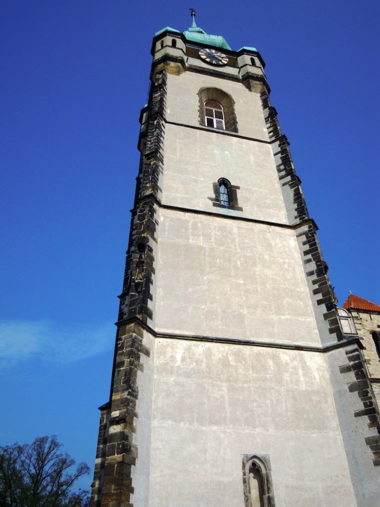 Saint Paul Peter Church Tower Melnik Czech Republic