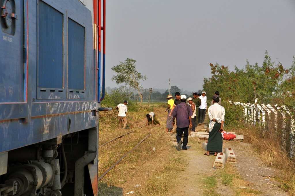 Mandalay to Hsipaw Train Journey Myanmar