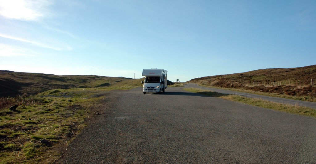 Deserted! Just us on the Isle of Skye