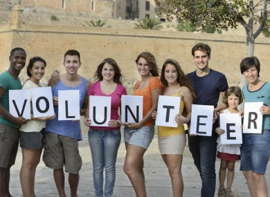 volunteer holiday